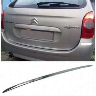 Fiat TIPO Sedan - CHROME Rear Strip Trunk Tuning Lid 3M Boot