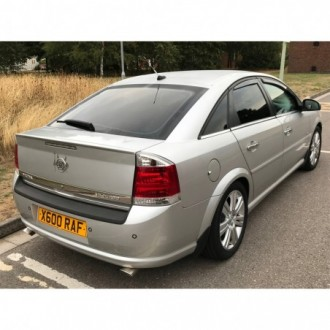 FORD MONDEO Mk3 Hatchback - CHROME Rear Strip Trunk Tuning Lid 3M Boot