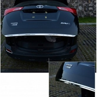 Volvo V40 Kombi - CHROME Rear Strip Trunk Tuning Lid 3M Boot