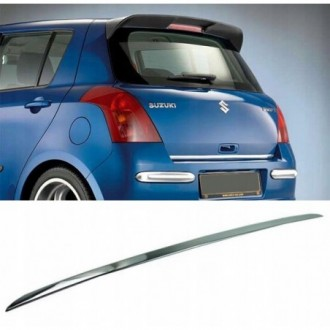 SUZUKI SWIFT III MZ, EZ 04 - CHROME Rear Strip Trunk...