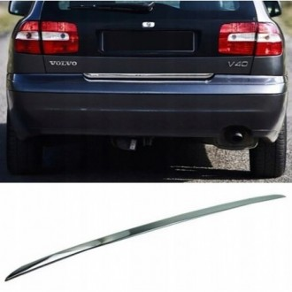 Renault LAGUNA III HB - CHROME Rear Strip Trunk Tuning Lid 3M Boot