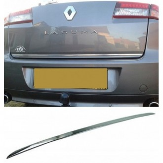 VW PASSAT B5 FL Kombi - CHROME Rear Strip Trunk Tuning Lid 3M Boot
