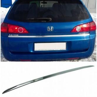HONDA ACCORD VII Kombi - CHROME Rear Strip Trunk Tuning...