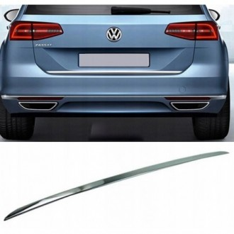 Seat LEON I 1M1 - CHROME Rear Strip Trunk Tuning Lid 3M Boot
