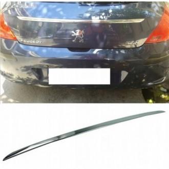 Peugeot 308 I HB - CHROME Rear Strip Trunk Tuning Lid 3M...