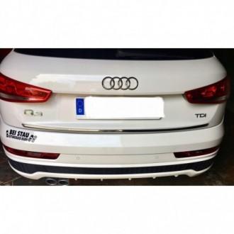 Audi Q3 - CHROME Rear Strip Trunk Tuning Lid 3M Boot