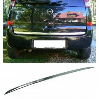 MAZDA 6 Kombi - CHROME Rear Strip Trunk Tuning Lid 3M Boot