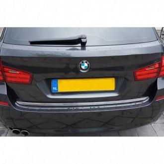BMW 5 F11 Touring - CHROME Rear Strip Trunk Tuning Lid 3M...