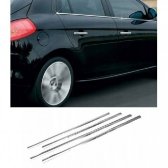 Fiat BRAVO 2 II - Chrome side door trim