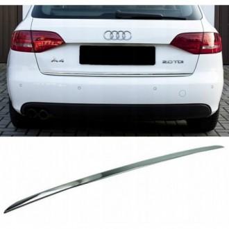 Audi A4 B8 Avant Kombi - CHROME Rear Strip Trunk Tuning...
