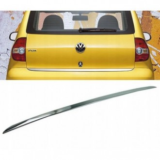 VW FOX - CHROME Rear Strip Trunk Tuning Lid 3M Boot