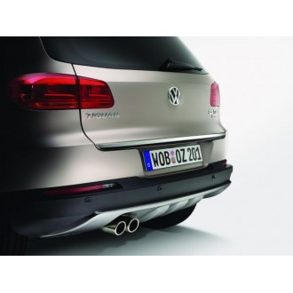 Audi A3 8L1 - Chrom-Zierleiste Heckleiste 3M Tuning Chromleiste Heckklappe