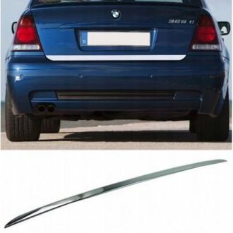 BMW 3 E46 Compact 4cm - CHROME Rear Strip Trunk Tuning...