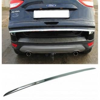 Ford KUGA II - CHROME Rear Strip Trunk Tuning Lid 3M Boot