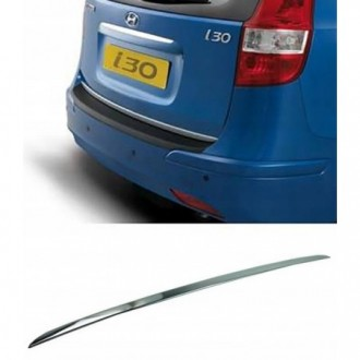 Hyundai i30 Kombi CW - CHROME Rear Strip Trunk Tuning Lid...