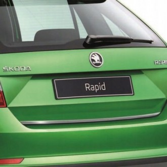 BMW X4 F26 - Chrom-Zierleiste Heckleiste 3M Tuning Chromleiste Heckklappe