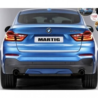 Hyundai i20 I PB PBT - CHROME Rear Strip Trunk Tuning Lid 3M Boot