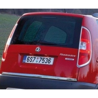 Renault MEGANE II Kombi - Chrom-Zierleiste Heckleiste 3M Tuning Chromleiste Heckklappe