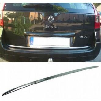 Renault MEGANE II Kombi - CHROME Rear Strip Trunk Tuning...