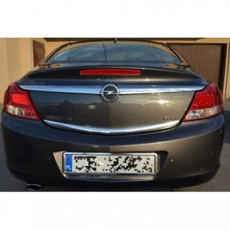 OPEL ASTRA H MK V HB - CHROME Rear Strip Trunk Tuning Lid 3M Boot
