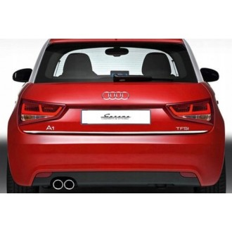 Audi A1 - CHROME Rear Strip Trunk Tuning Lid 3M Boot