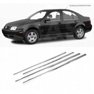 VW BORA Sedan - Chrome side door trim
