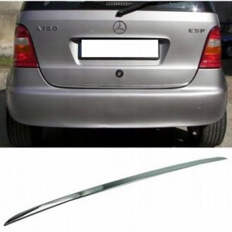 Mercedes A klasa W168 97-04 - CHROME Rear Strip Trunk...