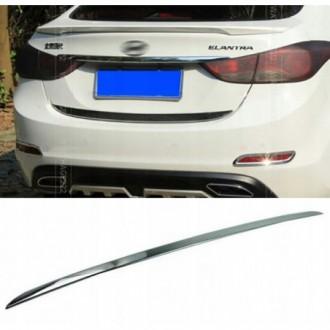 Hyundai ELANTRA MD UD - CHROME Rear Strip Trunk Tuning...