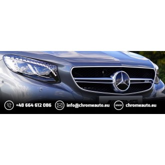 OPEL ASTRA MK IV G HB Sedan - CHROME Rear Strip Trunk Tuning Lid 3M Boot