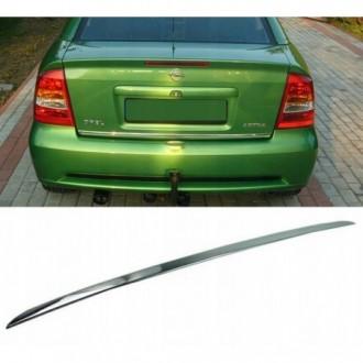 OPEL ASTRA MK IV G HB Sedan - CHROME Rear Strip Trunk...