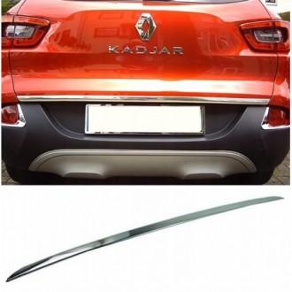 Renault KADJAR - CHROME Rear Strip Trunk Tuning Lid 3M Boot