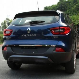 Renault MEGANE III HB - Chrom-Zierleiste Heckleiste 3M Tuning Chromleiste Heckklappe