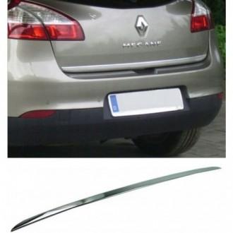 Renault MEGANE III HB - CHROME Rear Strip Trunk Tuning...