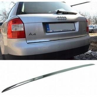 Audi A4 B6 Avant - CHROME Rear Strip Trunk Tuning Lid 3M...