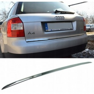 Skoda Octavia 2 Kombi - CHROME Rear Strip Trunk Tuning Lid 3M Boot