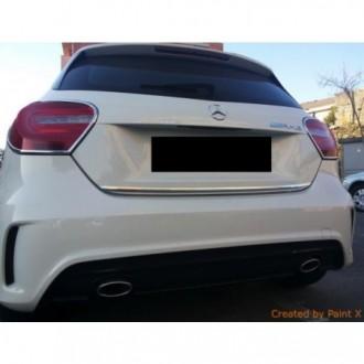 Hyundai Santa Fe I - Chrom-Zierleiste Heckleiste 3M Tuning Chromleiste Heckklappe