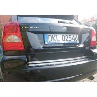 KIA Cee'd I Kombi SW - CHROME Rear Strip Trunk Tuning Lid 3M Boot