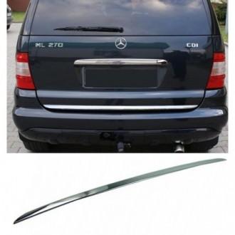 Mercedes ML W163 - CHROME Rear Strip Trunk Tuning Lid 3M...
