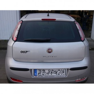 Alfa Romeo 159 Sedan - CHROME Rear Strip Trunk Tuning Lid 3M Boot