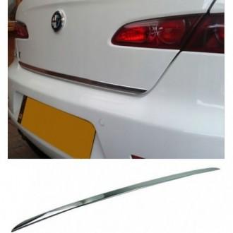 Alfa Romeo 159 Sedan - CHROME Rear Strip Trunk Tuning Lid...