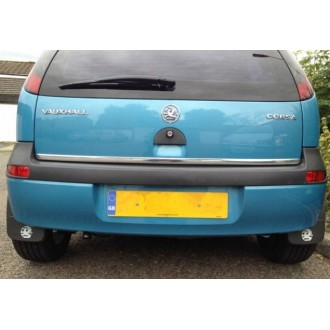 Skoda RAPID Liftback Sedan - CHROME Rear Strip Trunk Tuning Lid 3M Boot