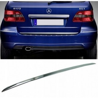 MAZDA 323 BJ VI F 98-03 - CHROME Rear Strip Trunk Tuning Lid 3M Boot