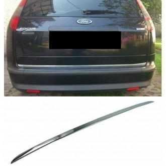 Ford FOCUS MK II Kombi - CHROME Rear Strip Trunk Tuning...