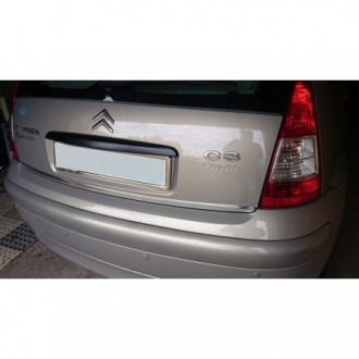 Seat ALHAMBRA I 96-00 - CHROME Rear Strip Trunk Tuning Lid 3M Boot