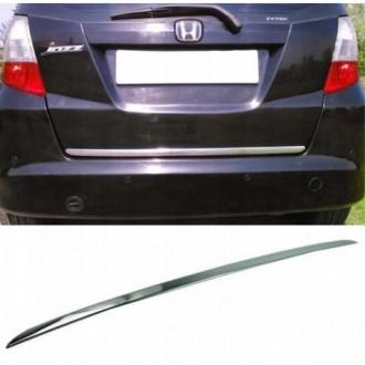 Honda JAZZ III GE - CHROME Rear Strip Trunk Tuning Lid 3M...