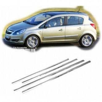 Opel CORSA D - Chrome side door trim