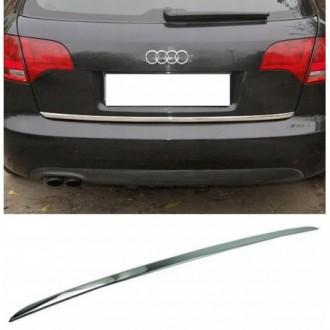 Audi A4 B7 Avant - CHROME Rear Strip Trunk Tuning Lid 3M...