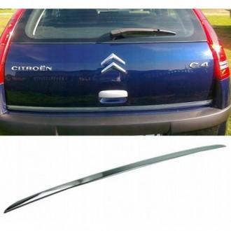 CITROEN C4 Hatchback - CHROME Rear Strip Trunk Tuning Lid...