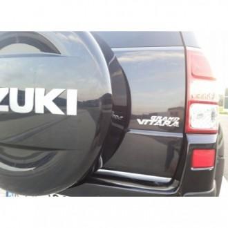 SUZUKI Grand Vitara II 3D - CHROME Rear Strip Trunk...
