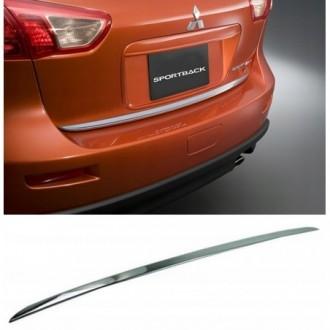 Mitsubishi LANCER X Sportback - CHROME Rear Strip Trunk...